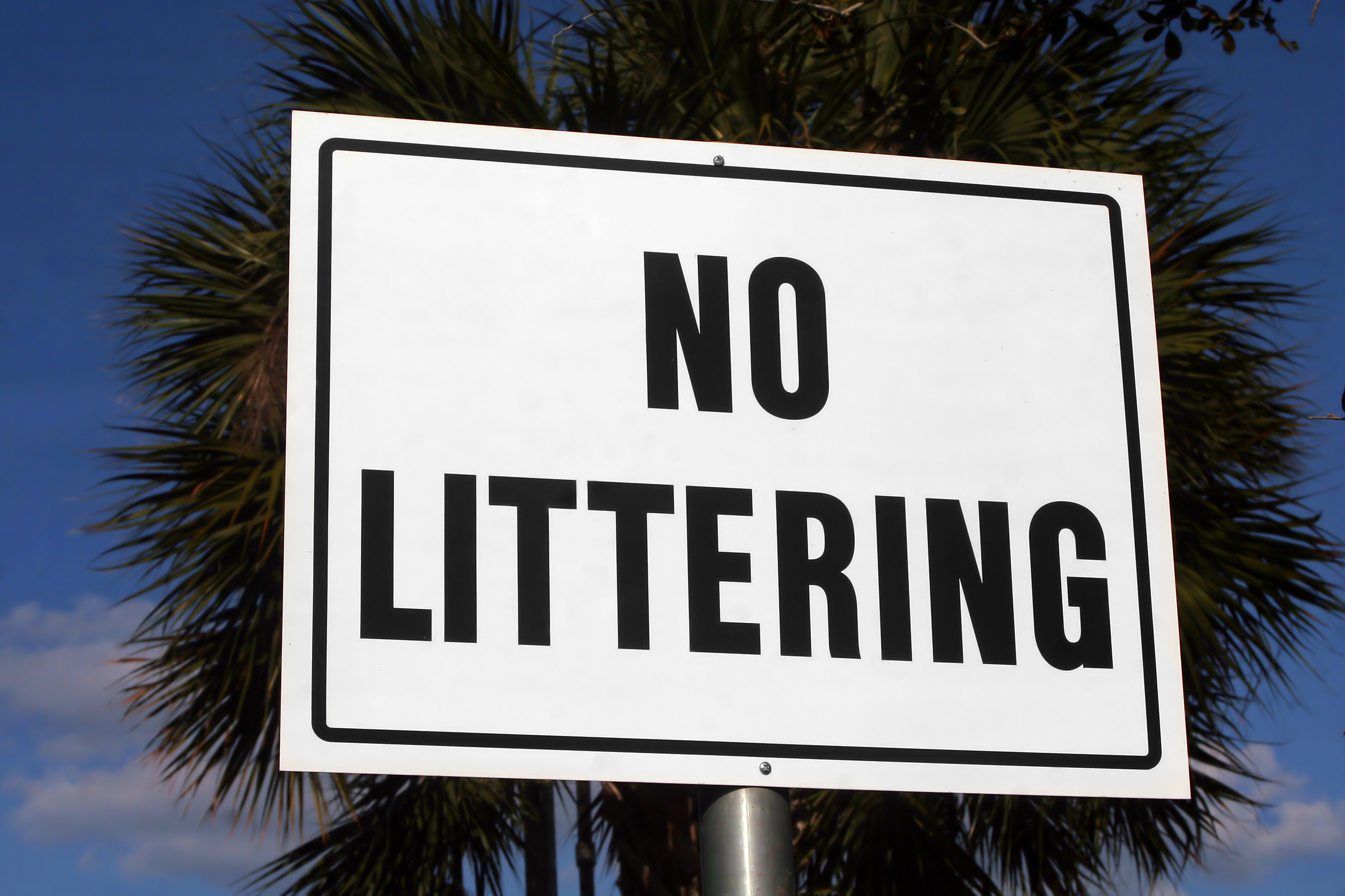 Fight Dumping & Littering